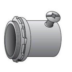 "Appleton 4075ST EMT Set Screw Connector, 3/4"", Insulated, Steel"