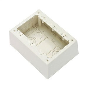 Panduit JBP3DIW 3-Gang Junction Box, Non-Metallic, Inter