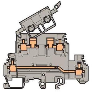 Entrelec 011564622 Fuse Holder Terminal Block, Type: M 4/8.D2.SFD