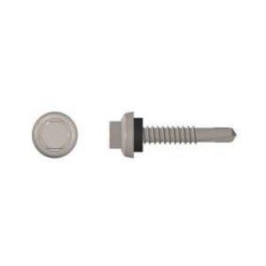 "S-5! Attachment Solutions #14X2IN-TEK-SCREW Self Drilling Metal to Metal Screw, 1/4-14 x 2"""