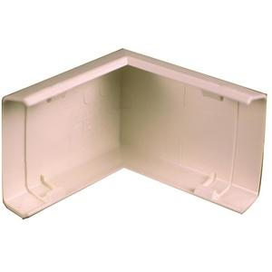 Wiremold 818 90° External Elbow / 800 Series Raceway, PVC, Ivory