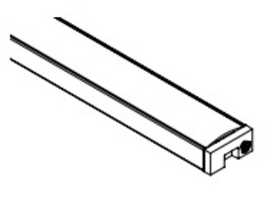 Diode LED DI-CPCHA-SL48 CHROMAPATH ALUMINUM CHANNEL SLIM 48 IN SINGLE CHA