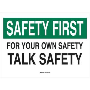 25313 SAFETY SLOGANS SIGN