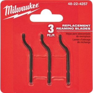 Milwaukee 48-22-4257 Replacement Reaming Blades (3 PC)
