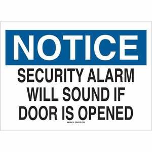 22541 DOOR SIGN