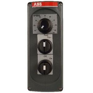 ABB MEP3/10 Control Station, Pontentiometer, Start/Stop, Modular