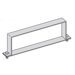"""Eaton B-Line 9A-36-9064-W/SS6 Heavy Duty Cover Clamp for 36"""" wide Cable Tray, 6"""" Height"""