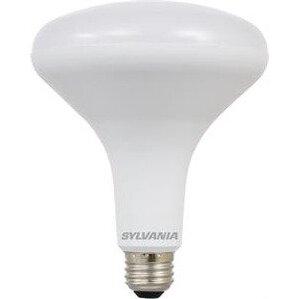 SYLVANIA LED13BR40DIM82710YVRP2 LED Lamp, Dimmable, BR40, 13W, 120V