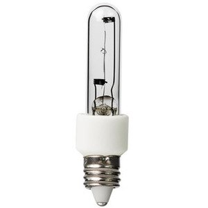 Kichler 5910CLR Halogen Bulb, Single-Ended, T3, 75W