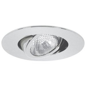 "Elite Lighting B461WH Gimbal Trim, 4"" White"