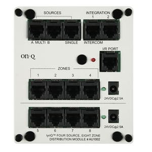 ON-Q AU1002 Lyriq 4 Source 8 Zone Dist Module *** Discontinued ***
