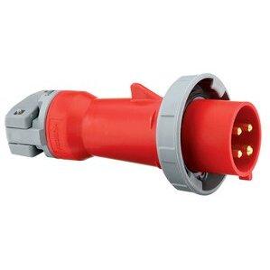 Hubbell-Kellems HBL520P7W Ps, Iec, Plug, 4p5w, 20a 277/480v, W/t