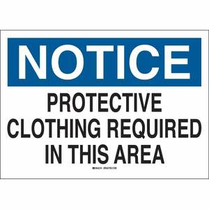 25232 PROTECTIVE WEAR SIGN