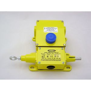 Rees 04962-200 Switch, Cable Pull, Left, 2NO/NC Contacts, Broken Cable Detection
