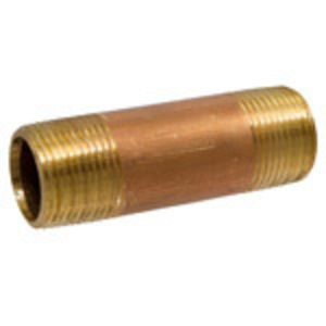 Merit Brass 2012-200 3/4X2 BRS NPL