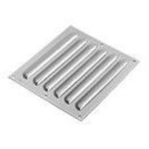"""nVent Hoffman AVK84SS6 Louver Plate Kit, 5.81"""" x 9.50"""", Stainless Steel"""