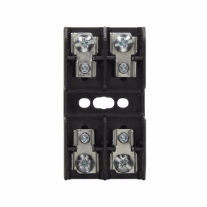 Eaton/Bussmann Series BG3032S Class G Fuse Block, 2-Pole, 25-30A, 480V, Screw Terminal