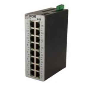 N-TRON 116TX Ethernet Switch, 16 Port, Unmanaged, 10-30VDC, 10/100BaseTX