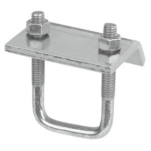 """Superstrut U501-SS Beam Clamp, Channel-to-Beam, 3"""" Width, Stainless Steel"""