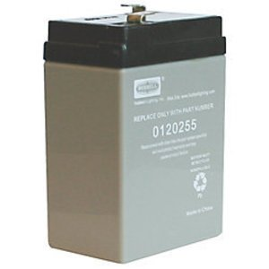 Hubbell-Dual-Lite 0120255 Sealed Lead Acid Battery, 6V, 4.5A
