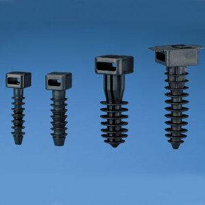 Panduit MPMS25-C0 Masonry push barb cable tie mount