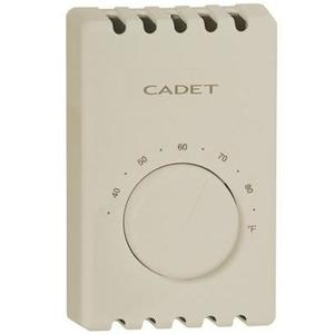 Cadet T410B-A Bimetal DP Thermostat Almond 22A