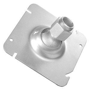 "Garvin Industries SC-507511B 4-11/16"" Square Swivel Fixture, Diameter: 1/2 and 3/4"", Steel"