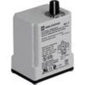 Square D 9050JCK24V20 Relay, Timer, 10A, 240VAC, 120VAC Coil, 11 Pin, 2PDT, Off-Delay