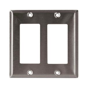 97401SS 1GANG DECORATOR SS PLATE
