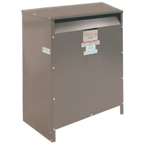 Square D EE15T67H Transformer, Dry Type, 3PH, 15kVA, 240D x 208Y/120, Floor Mount *** Discontinued ***