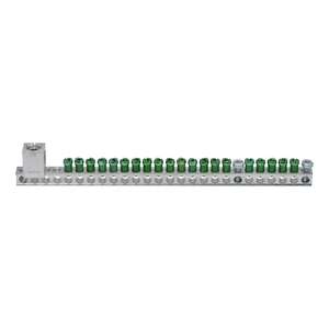 "Eaton GBKP2120 Ground Bar Kit, 21 Circuits, 9.19"", Cu/Al, 2/0 AWG Lug"