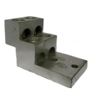 Ilsco PB4-600 Solderless Panelboard Lug, 4 Hole, 2 AWG - 600 MCM