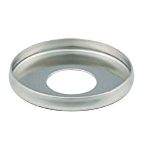"American-De Rosa Lamparts B142 5/8"" Stamped Steel Nickel Plated Check Ring, Slip 1/8 IPS"