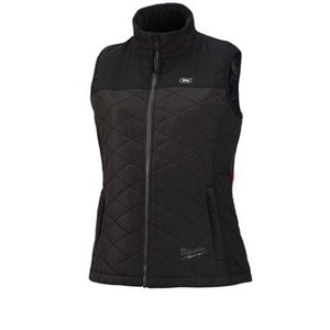 Milwaukee 333B-21XL M12 Black Heated Women's Axis Vest Kit, XL