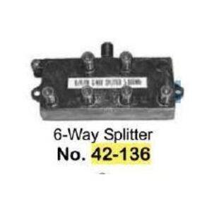 Philmore 42-136B 6-WAY SPLITTER