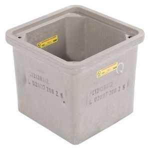 "Hubbell-Quazite PC1212BA12 Box, w/Open Bottom 12"""