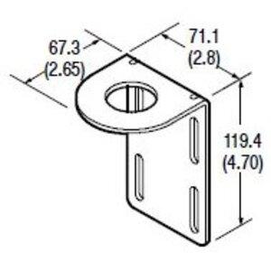 Allen-Bradley 60-2513 Mounting Bracket, Right Angle, 360 Degree Rotation, Series 9000