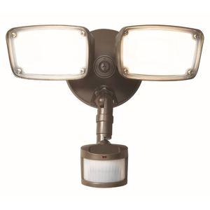 Cooper Lighting MST203T18B LED Floodlight, 22.8 Watt, 2034 Lumen, Motion Sensor, 120V
