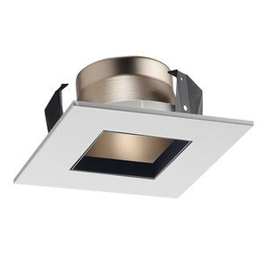 Juno Lighting 17SQ-WWH 17SQ square downlight trim for line voltage housings white reflector white trim