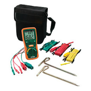 Extech 382252 Earth Ground Resistance Test Kit