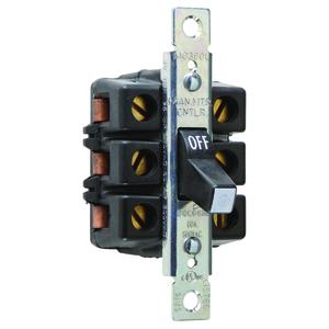Pass & Seymour 7863 60A MANUAL CONTROLLER 3P 600VAC