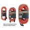 General Cable 03318.63.04 Extension Cord, Outdoor, Safety Orange, 16/3 SJTW, 10' Long