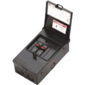 Eaton B60NARNM Disconnect Switch, 60A, 2P, 240VAC, Steel Enclosure, NEMA 3R