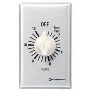 Intermatic FF60MC Time Switch, 60-Minute, SPST, Brushed Aluminum/Sandstone