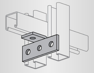 Power-Strut PS715-EG Tee Plate 90 Angle