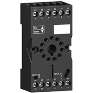 Square D RUZC3M Relay, Plug In,Socket,11 Pin, DIN Rail Mount