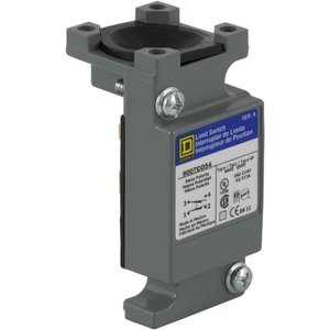 Square D 9007CO54 Limit Switch, Plug In, Body, 10A,600VAC, 2.5A, 600VDC, 1PDT