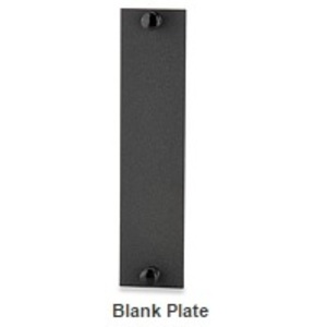 Signamax UFE-B-BL Fiber Adapter Panel, Blank