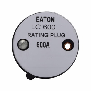 Eaton 6LC500 Type Lc Fixed Rating Plug 500a Continuous