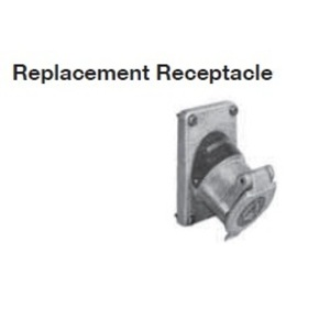 Appleton EFSR-20232 Aluminum Replacement Receptacle Only